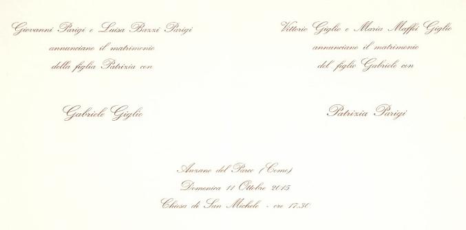 Partecipazioni Matrimonio Bon Ton.Galateo Delle Partecipazioni Ed Altro Carta A Mano Nelle Ande