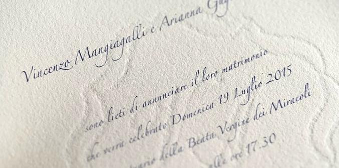 Partecipazioni Matrimonio Galateo.Galateo Delle Partecipazioni Ed Altro Carta A Mano Nelle Ande