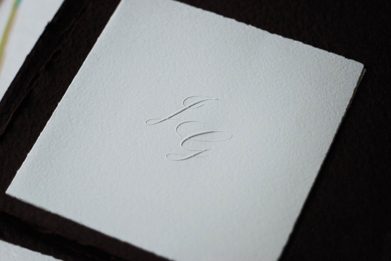 Wedding invitations - Handmade Paper in the Andes