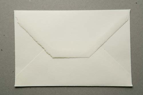 'Cusco' envelope for classic wedding cards of size 11x17cm